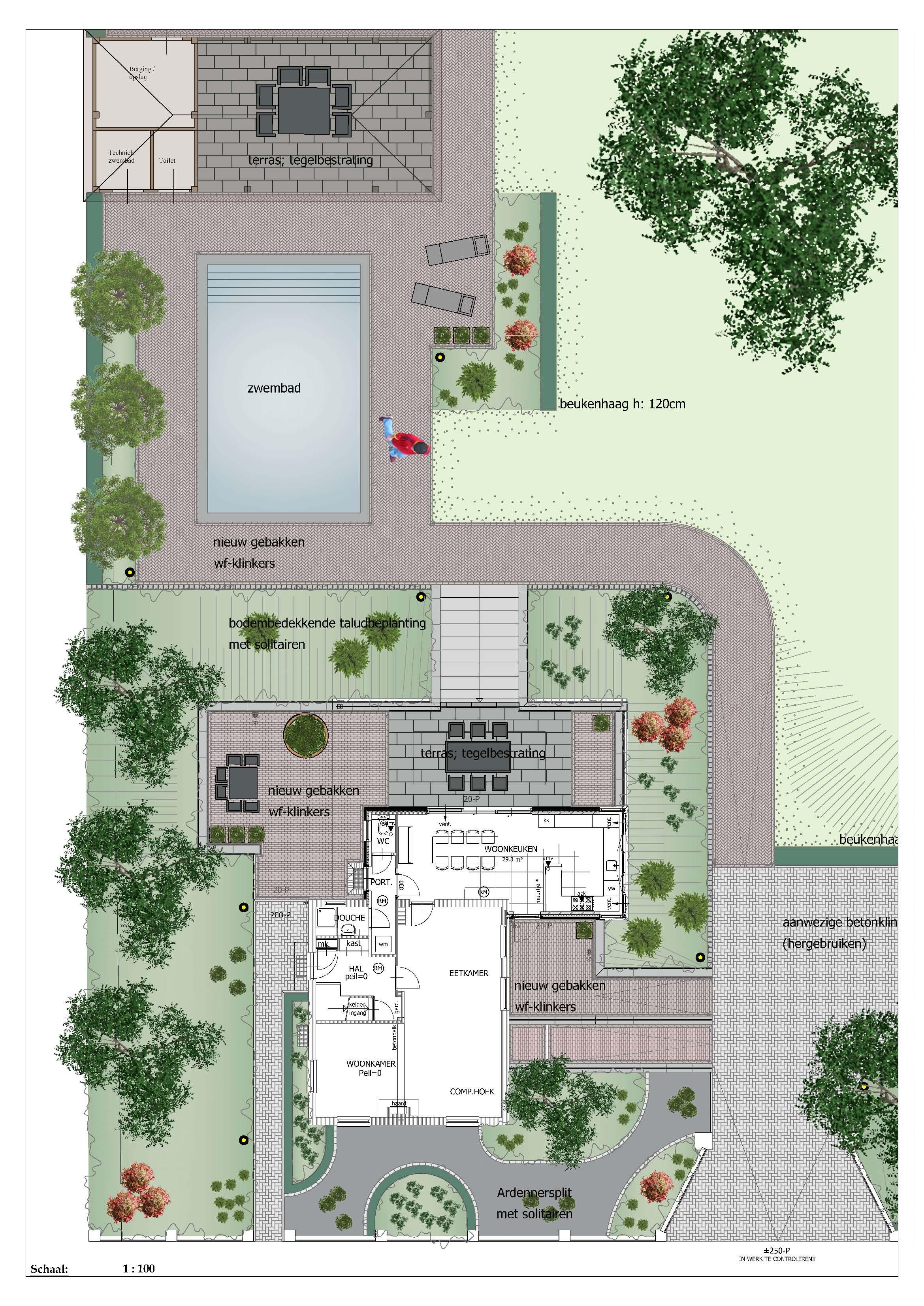 Het palet tuinontwerp tuinontwerpen for Ontwerp tuin