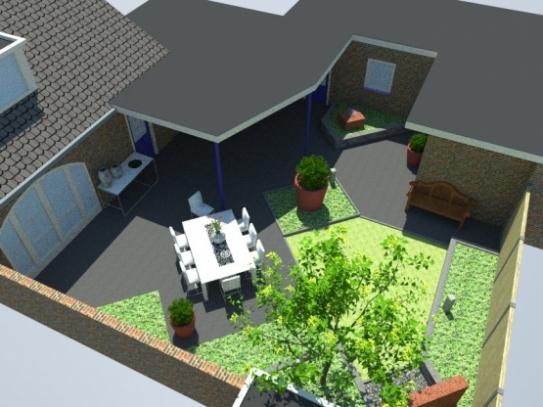 Gallery of inrichten kleine tuin for Nieuwbouwhuis inrichten tips