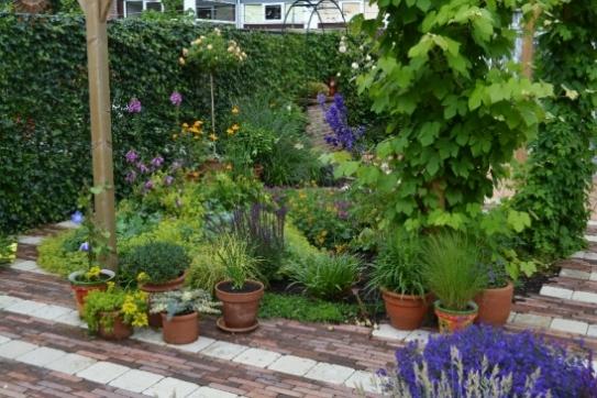 Super Het Palet tuinontwerp - Kleine tuin &NE56